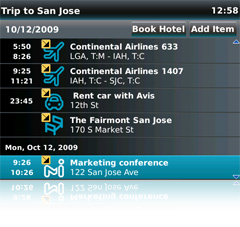 Itinerary Manager