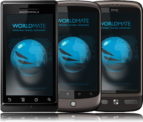 WorldMate with Android
